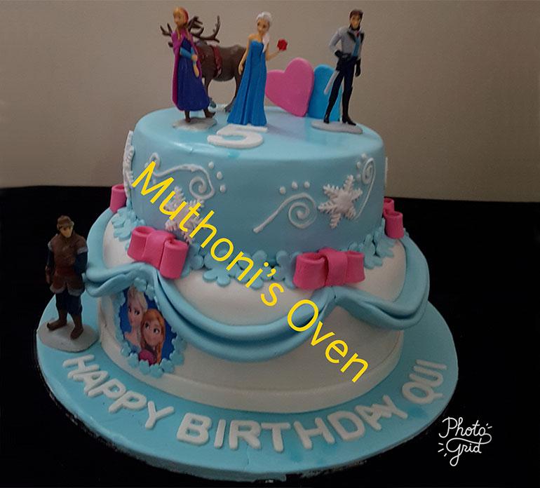Muthonis Oven Girls Birthday Cakes